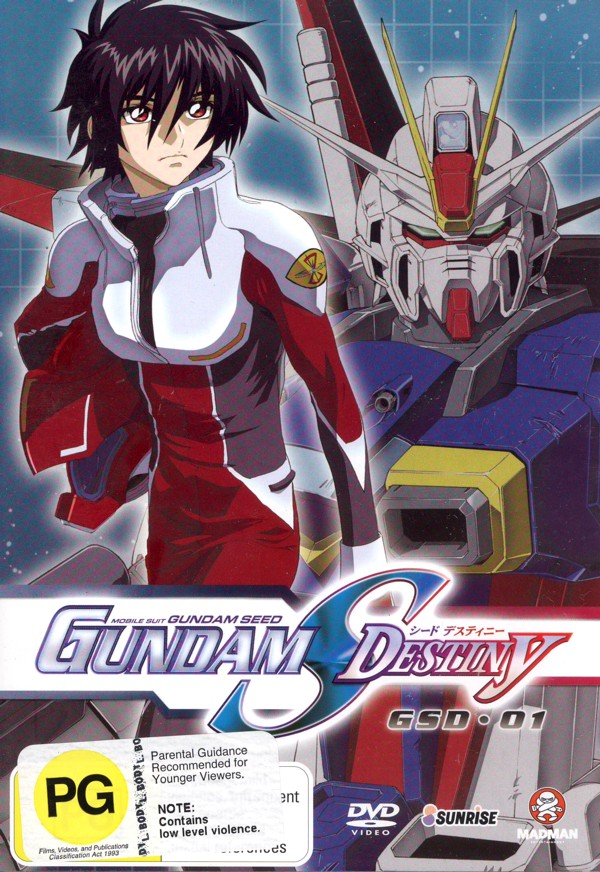 Gundam Seed - Gundam S Destiny: Vol. 1 on DVD image