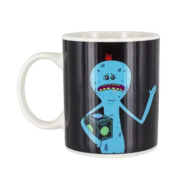 Rick and Morty: Mr Meeseeks Heat Change Mug