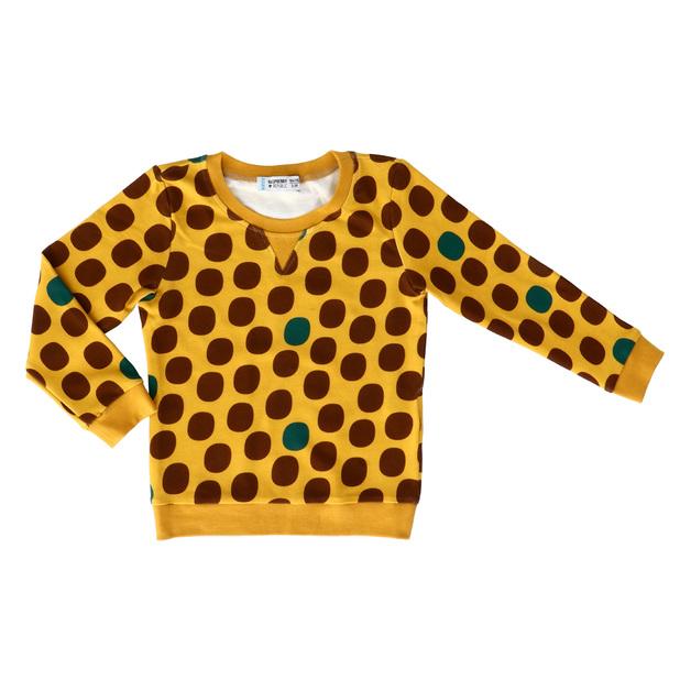 Raspberry Republic: Sweatshirt Frog Belly (Size 9)