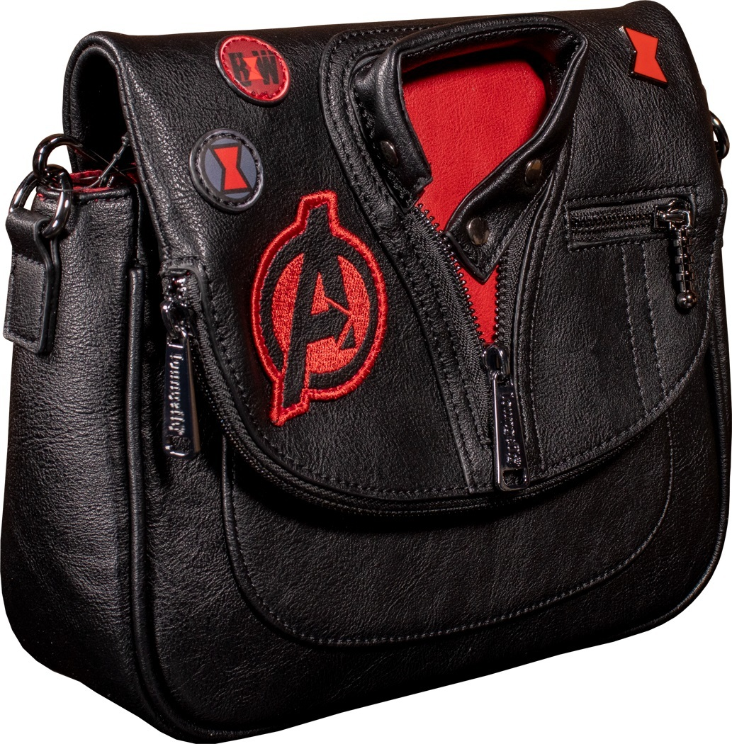 Loungefly: Marvel Black Widow Crossbody Bag image