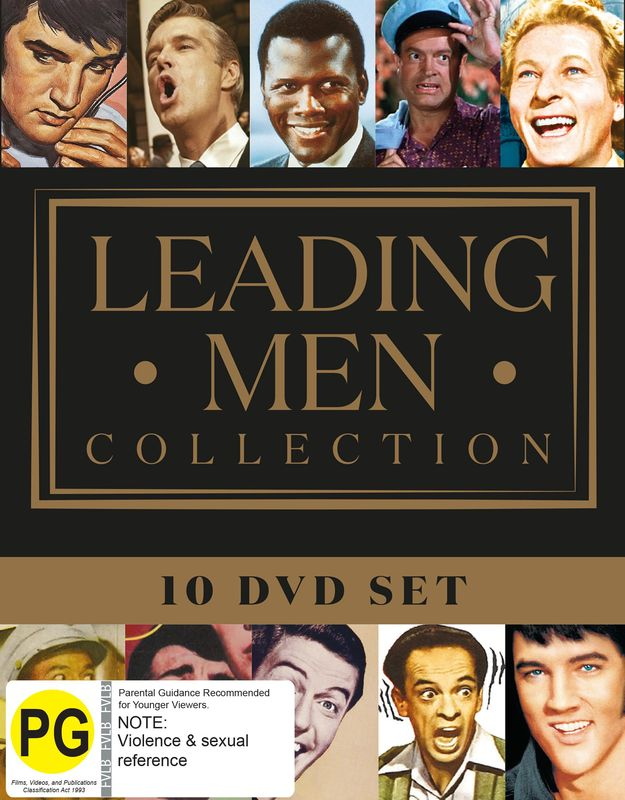 Leading Men Collection on DVD