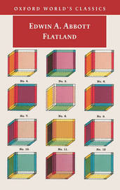 Flatland: A Romance of Many Dimensions by Edwin A Abbott image