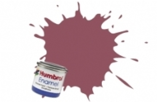 Humbrol Wine Red Matt #73 Enamel 14ml
