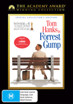 Forrest Gump - Special Collector's Edition (Academy Award Winning Collection) (2 Disc Set) on DVD