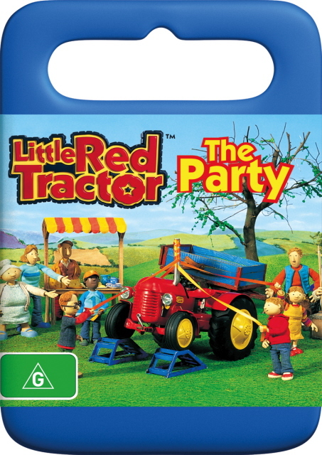 Little Red Tractor - The Party on DVD