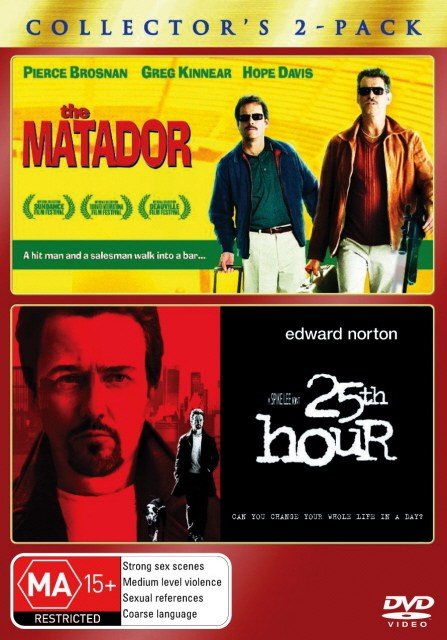 Matador, The / 25th Hour - Collector's 2-Pack (2 Disc Set) on DVD