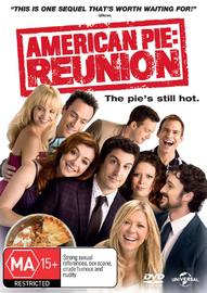 American Pie: Reunion on DVD