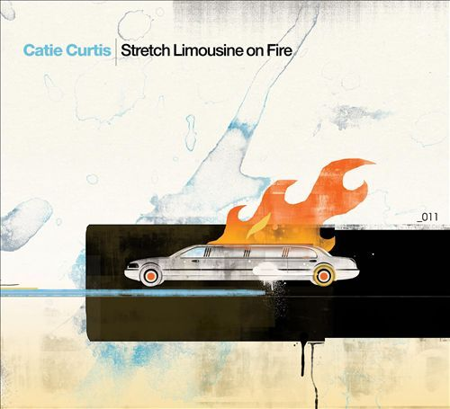 Stretch Limousine on Fire by Catie Curtis
