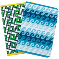 Jonathan Adler Watergate and Swirls Notebook Set