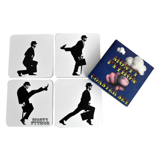 Monty Python Silly Walk Coaster Set