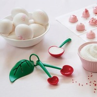 Mon Cherry - Measuring Spoon & Egg Separator