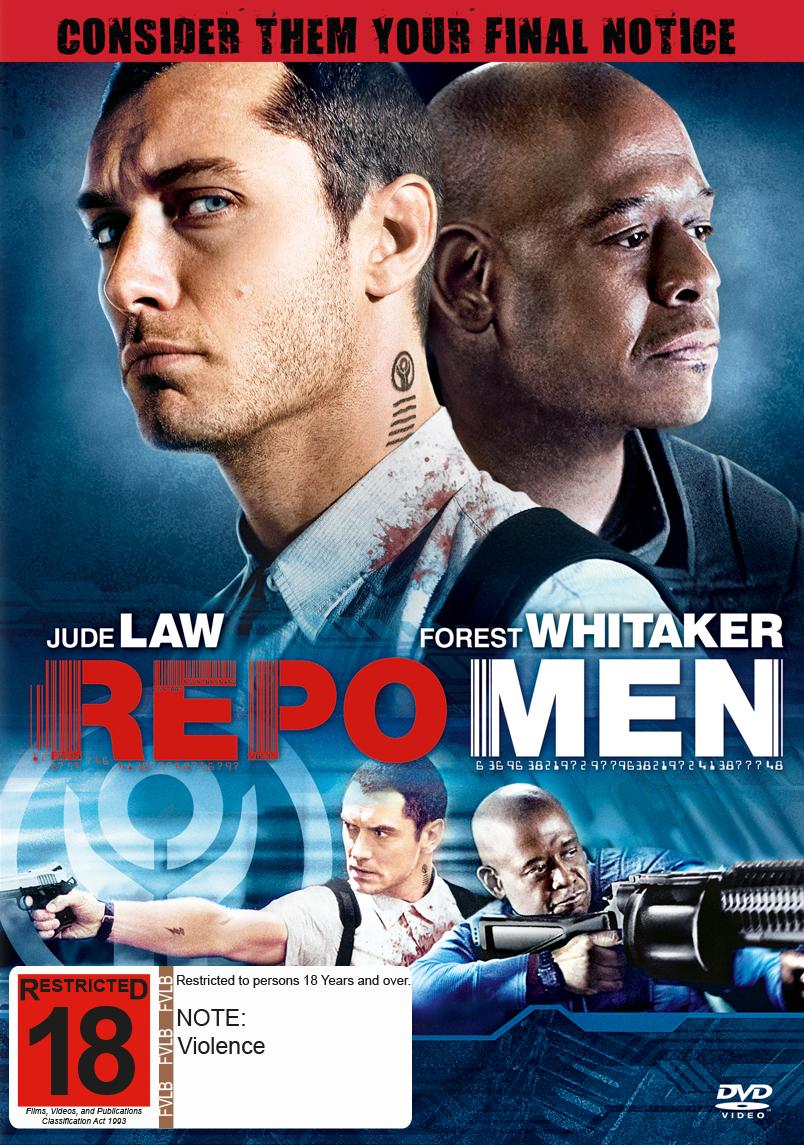 Repo Men on DVD image