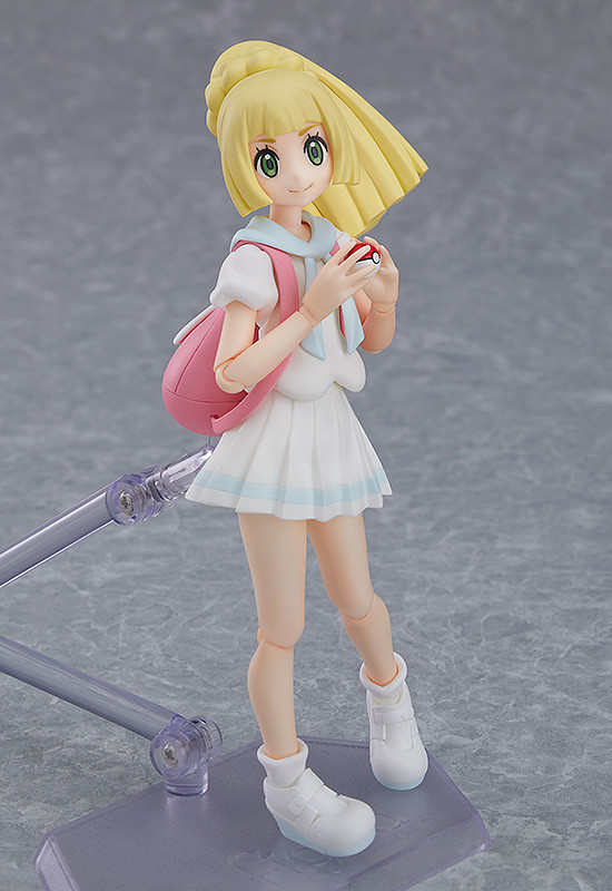 Figma Pokemon: Trainer Lively Lillie - Action Figure image
