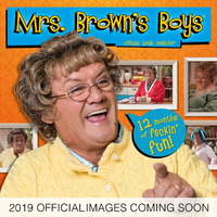 Danilo: Mrs Brown's Boys 2019 Square Wall Calendar