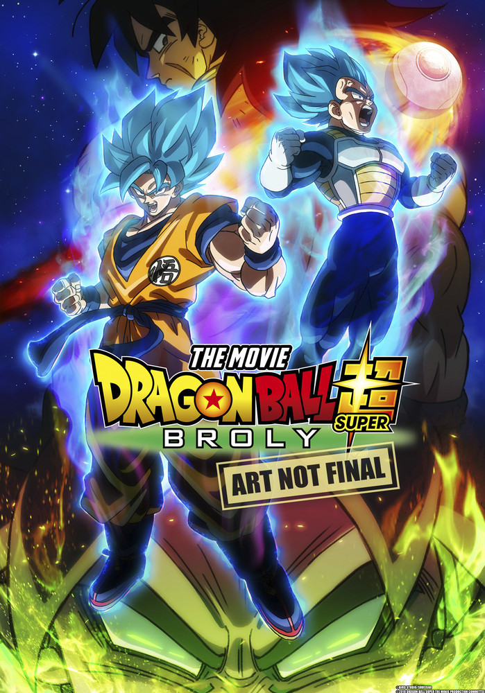 Dragon Ball Super - The Movie: Broly on DVD image