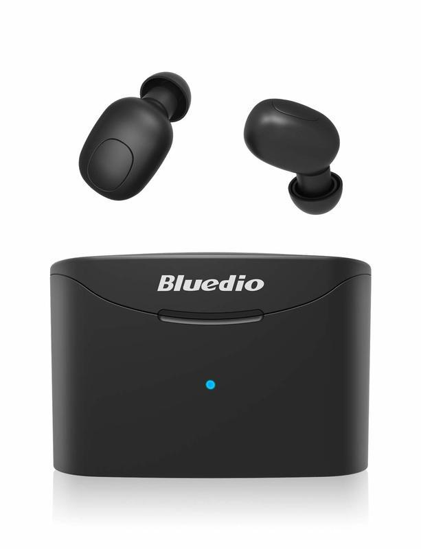 Bluedio T-Elf True Wireless Earbuds Headphones - Black