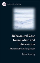 Behavioral Case Formulation and Intervention by Peter Sturmey image