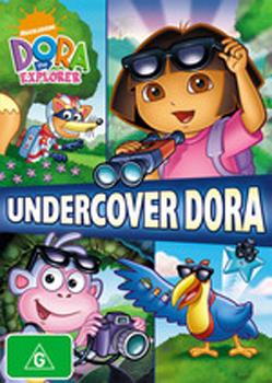 Dora The Explorer: Undercover Dora on DVD image