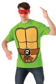 TMNT Raphael Costume T-Shirt & Mask (Large)