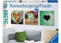 Ravensburger 3x500 Piece Jigsaw Puzzle - Impressions Of Love