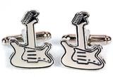 Guitar - Retro Cufflinks