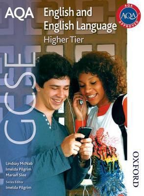 AQA GCSE English and English Language Higher Tier by Imelda Pilgrim image