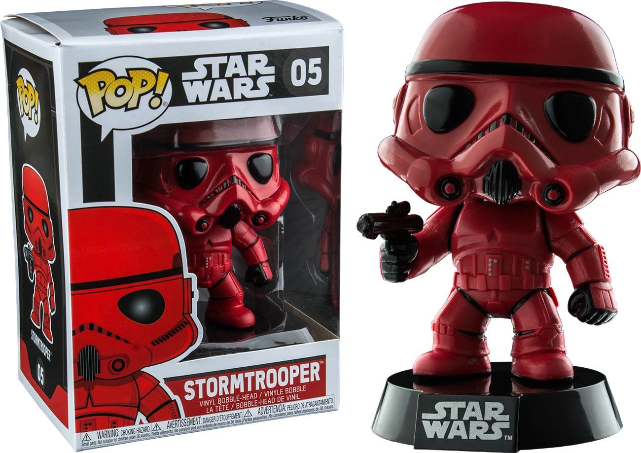 Star Wars: Stormtrooper (Red Ver.) Pop! Vinyl Figure image