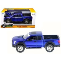 Jada 1/24 Just Trucks 2017 Ford Raptor (Blue) - Diecast Model image