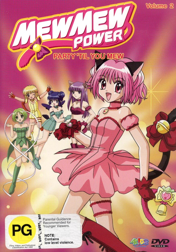 Mew Mew Power - Vol. 2: Party 'Til You Mew on DVD image
