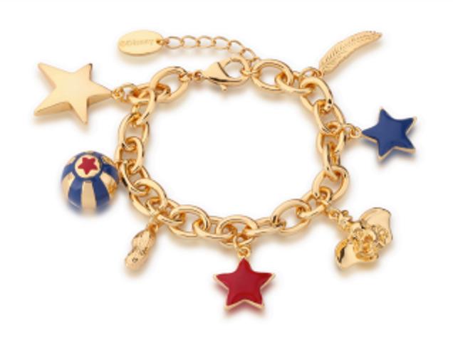 Disney: Dumbo Charm Bracelet - Gold image