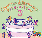Counting and Alphabet Sing-a-long Vol 3 on DVD