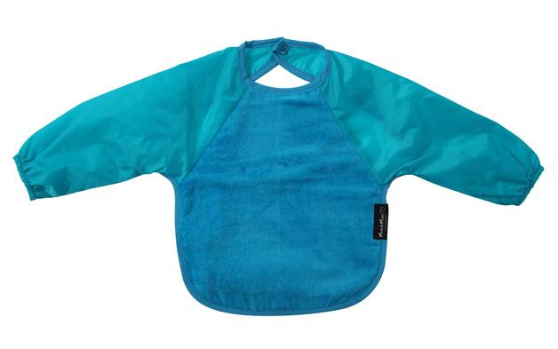 Mum 2 Mum Sleeved Wonder Bib (18-36 Months) - Teal