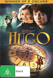 Hugo on DVD