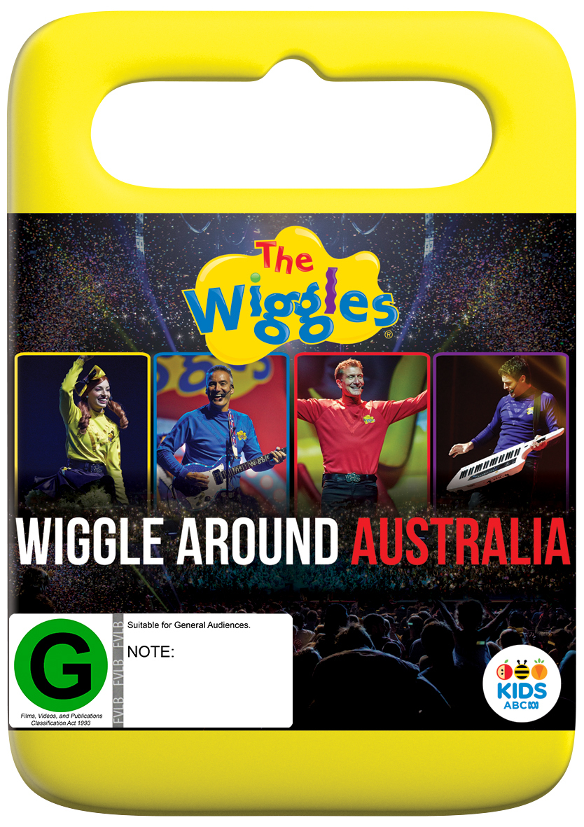 The Wiggles: Wiggle Around Australia on DVD image