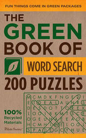 Green Book of Word Search by The Puzzle Society image