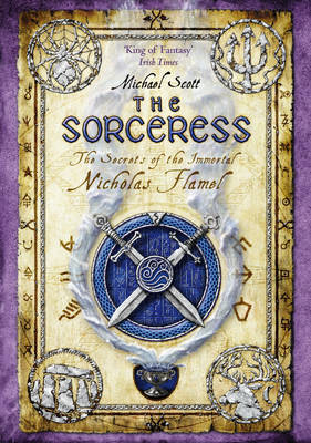 The Sorceress (Nicholas Flamel #3) by Michael Scott image
