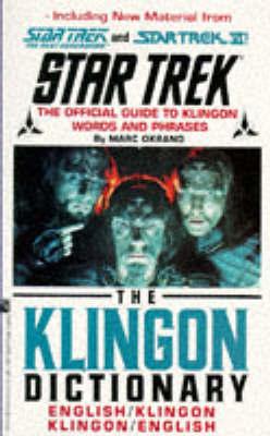 Klingon Dictionary by Marc Okrand image