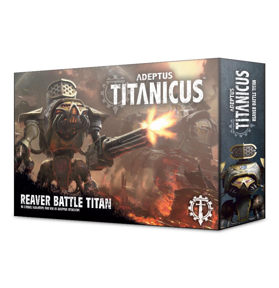 Warhammer 40,000 Adeptus Titanicus: Reaver Battle Titan image