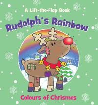 Christmas Mini Lift the Flap Rudolph's Rainbow image