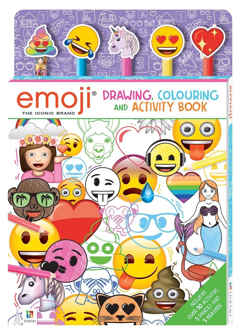 Kaleidoscope: Emoji Colouring & Activity - 5-Pencil Set image