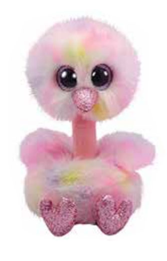 Ty Beanie Boo: Avery Ostrich - Large Plush
