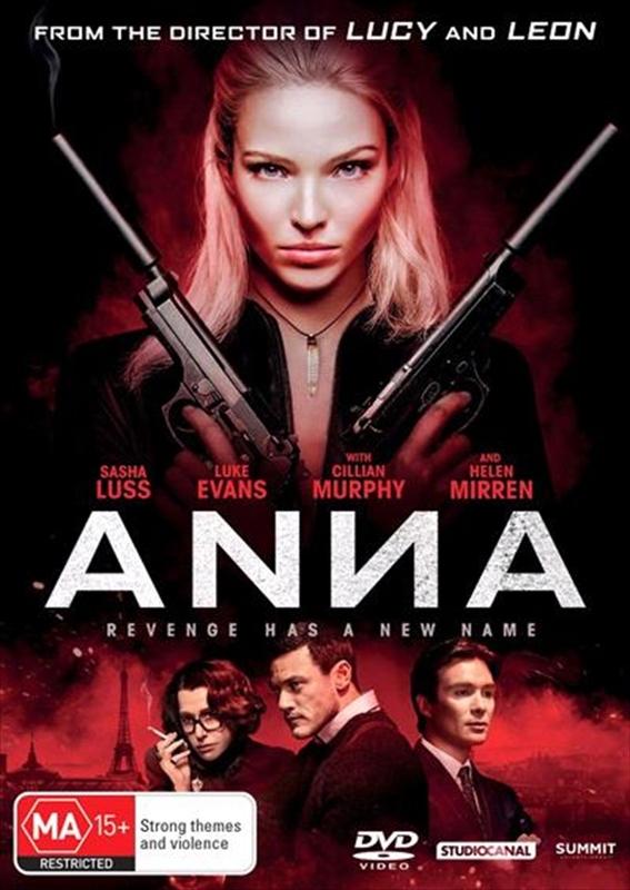 Anna (2019) on DVD