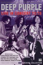 Deep Purple - Live In Concert 72/73 on DVD