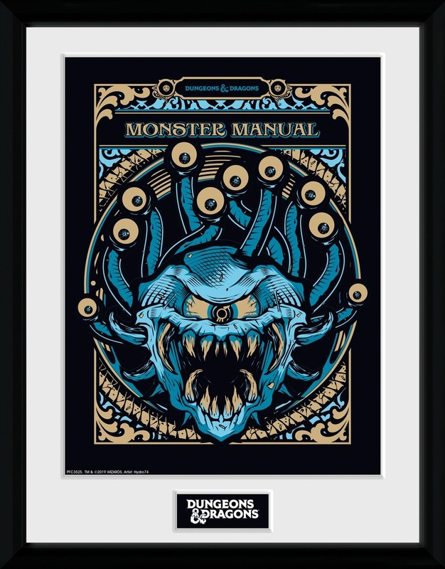 Dungeons and Dragons: Monster Manual - Collector Print (41x30.5cm)