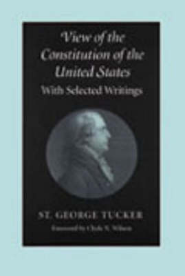View of the Constitution of the United States by St.George Tucker image