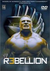 WWE - Rebellion 2002 on DVD