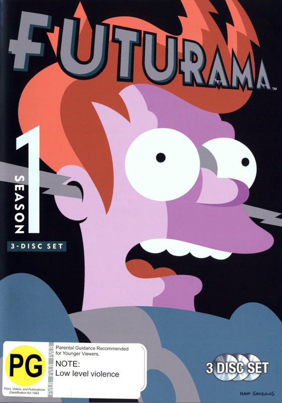 Futurama - Season 1 (3 Disc Box Set) on DVD