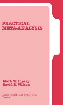Practical Meta-Analysis by Mark W Lipsey