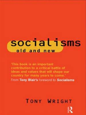 Socialisms: Old and New by Tony Wright