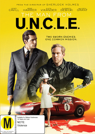 The Man From U.N.C.L.E on DVD